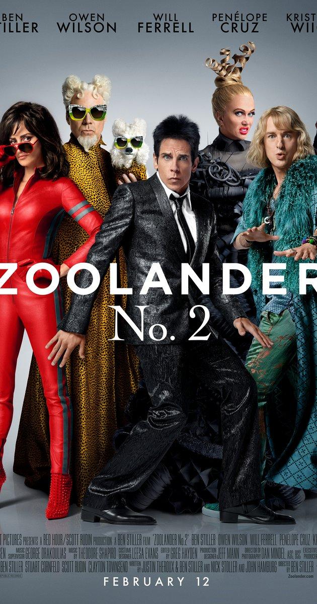Zoolander 2 (2016).