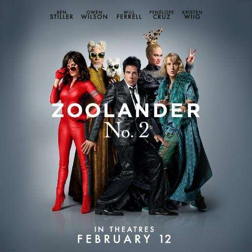 Cotter Chronicle : Zoolander 2: a true Narcisstinko.