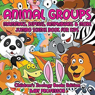Animal Groups (Mammals, Reptiles, Amphibians & More): Jumbo.