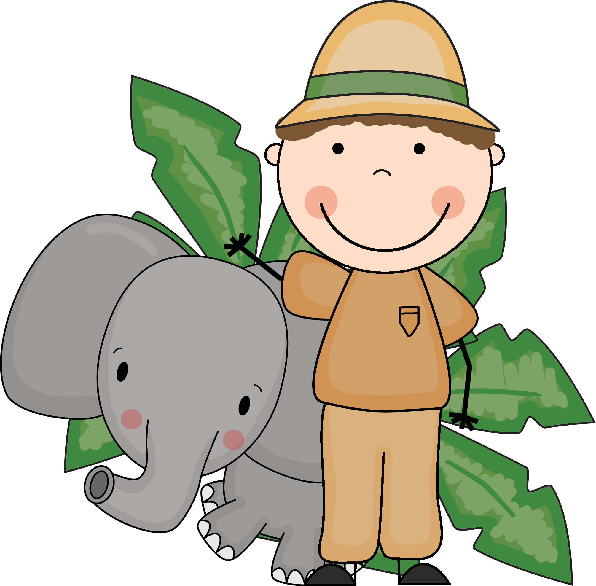 Animal Keeper Clipart.
