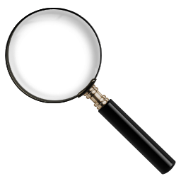 Find, magnify, search, zoom icon.