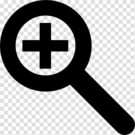 Zooming user interface Computer Icons Logo, Magnifying Glass.
