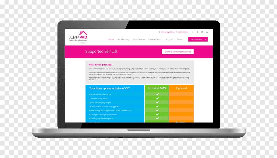 Web design Digital marketing, estate agent free png.