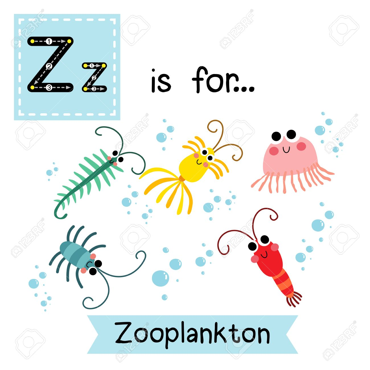 Zooplankton clipart 3 » Clipart Station.