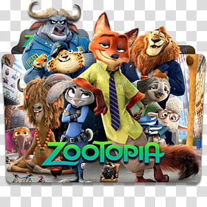 Zootopia transparent background PNG cliparts free download.