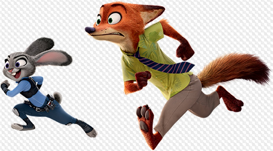 Download Free png PSD, 20 PNG, Zootopia, Cartoon characters on.