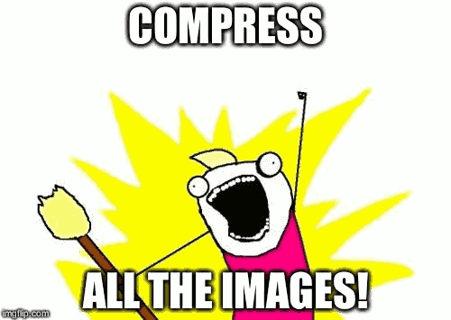Compress all the images! · Cowboy Programmer.