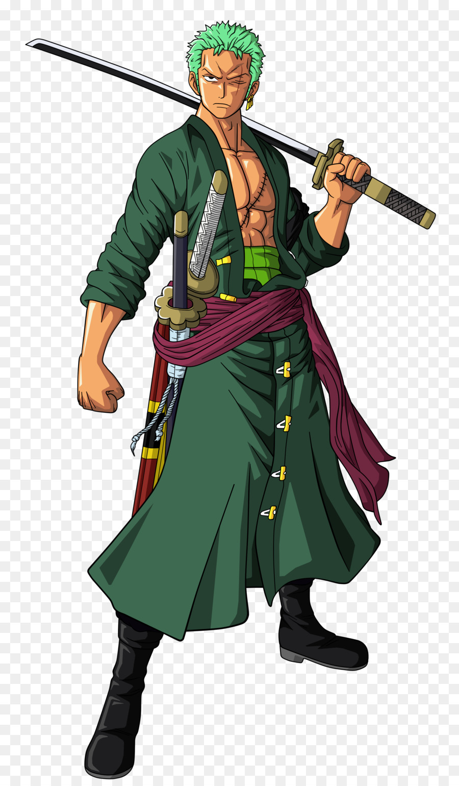 Zoro One Piecetransparent png image & clipart free download.