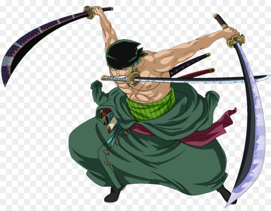 Zoro One Piece png download.