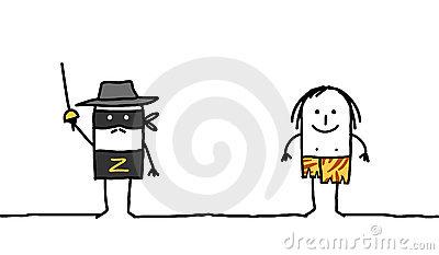 Zorro Stock Illustrations.