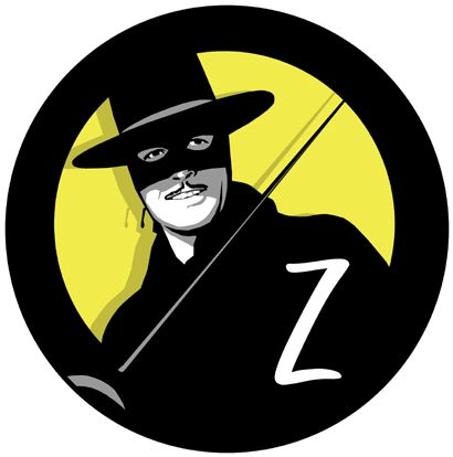 zorro illustration.