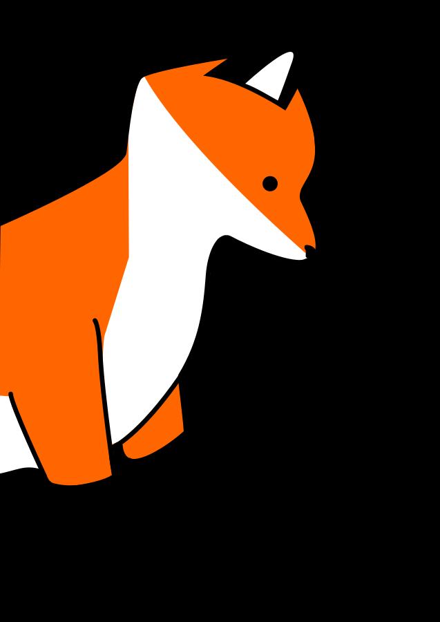 Zorro Fox Clipart, vector clip art online, royalty free design.