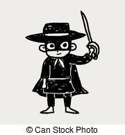 Zorro clipart