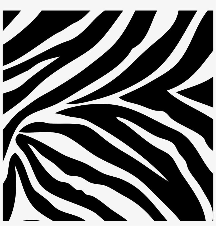 Zebra Print Free Png Image.