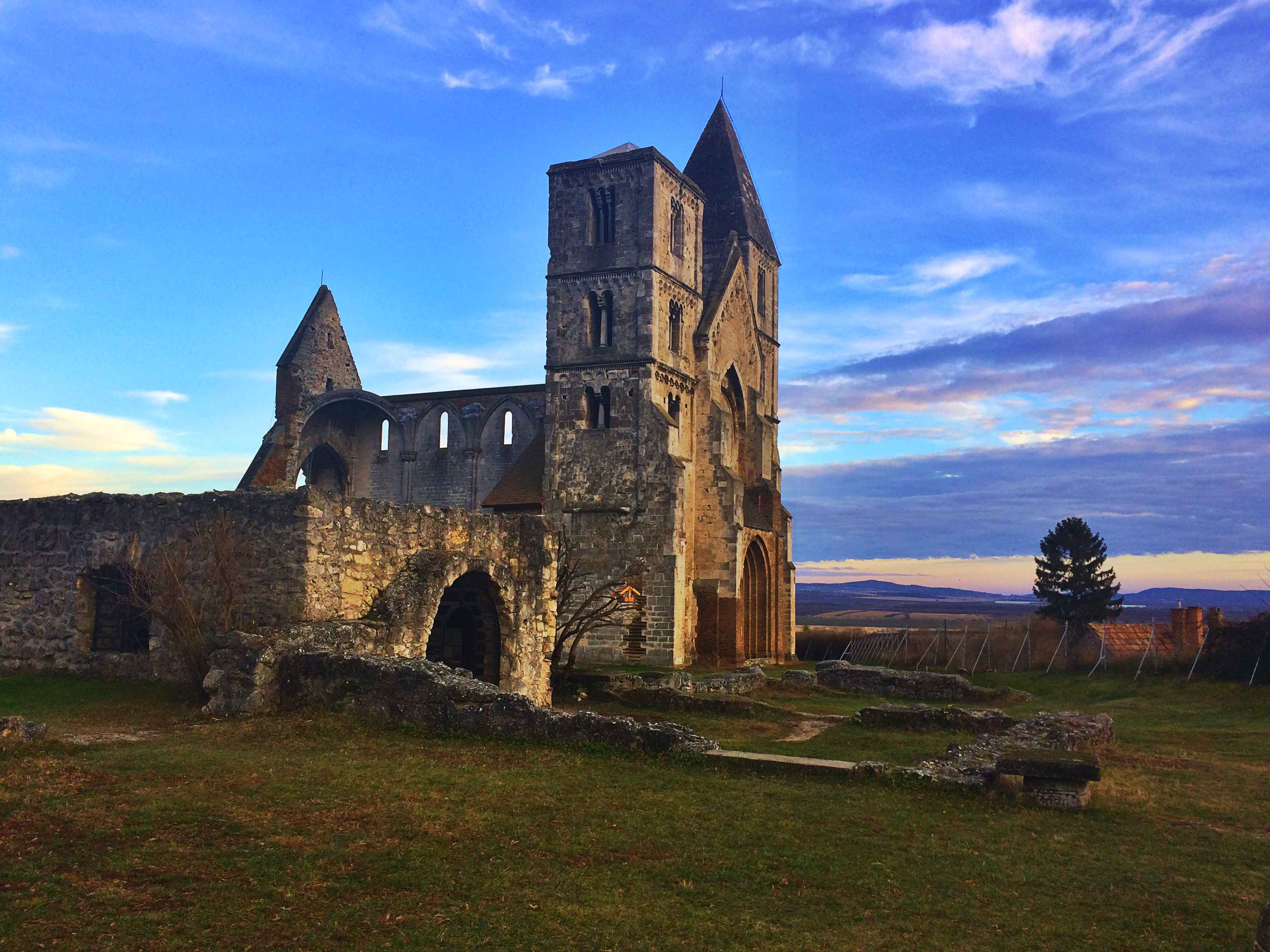 Day Trips from Budapest: Church Ruins in Zsámbék.