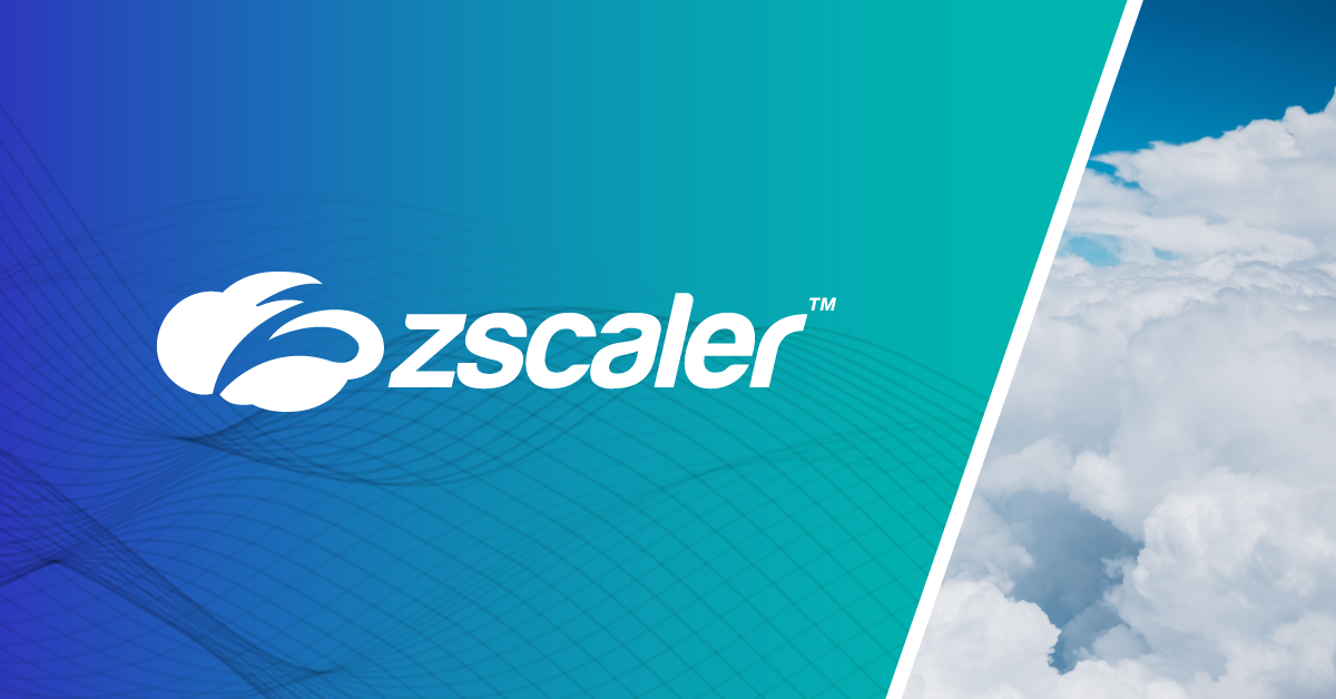 Zscaler Cloud Security — Secure Your Cloud Transformation.