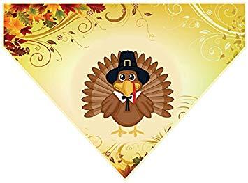 Thanksgiving Over the Collar Bandana.