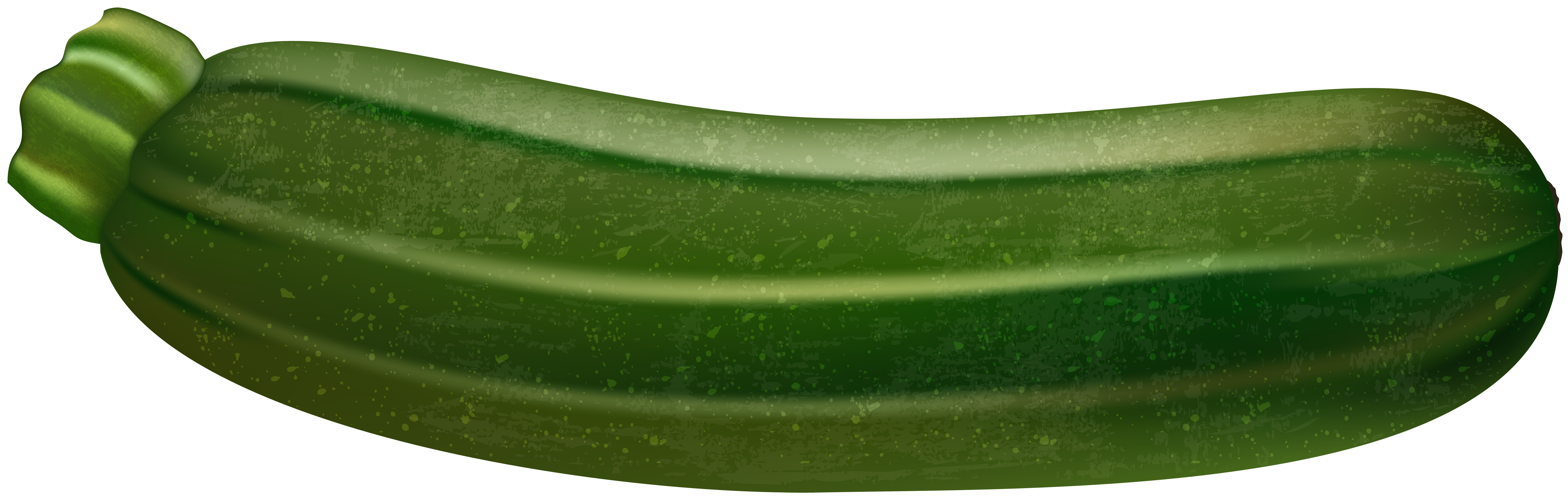 Zucchini Transparent PNG Clip Art Image.