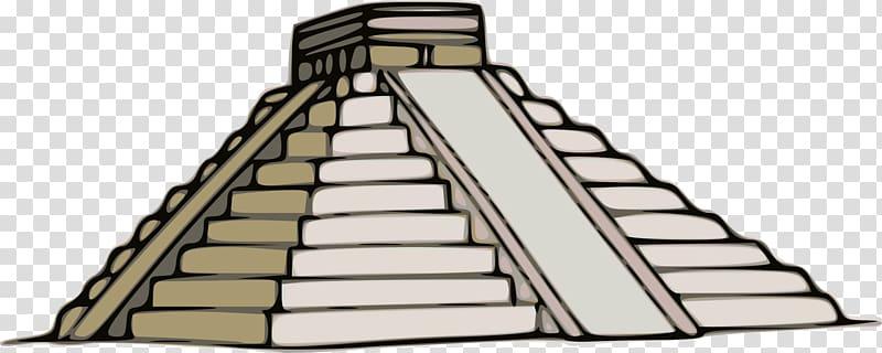 Babylon Palenque Ziggurat, temple transparent background PNG.
