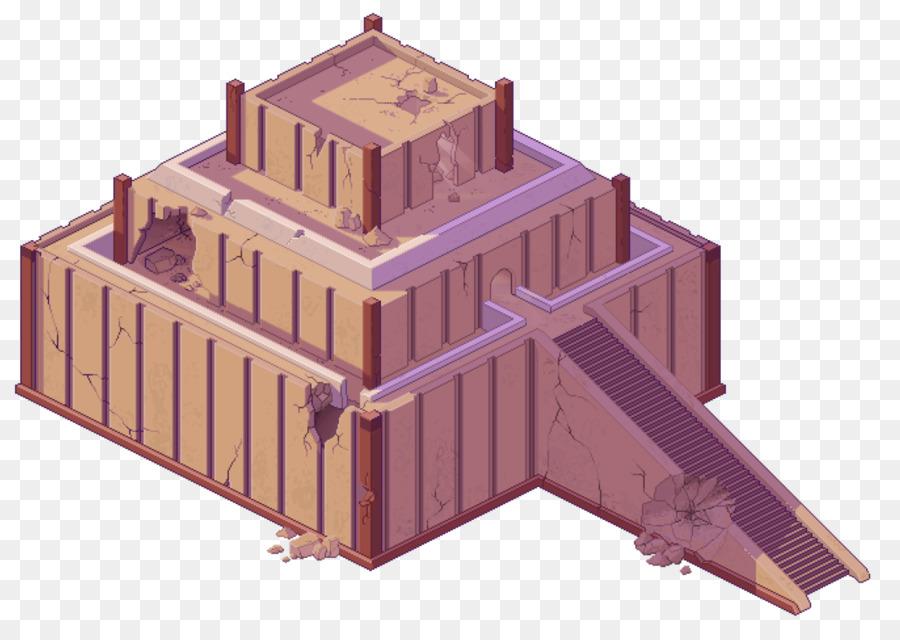 Ziggurat Of Ur Wood png download.