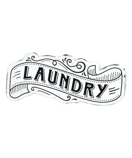 Ragon House \'Laundry\' Sign.