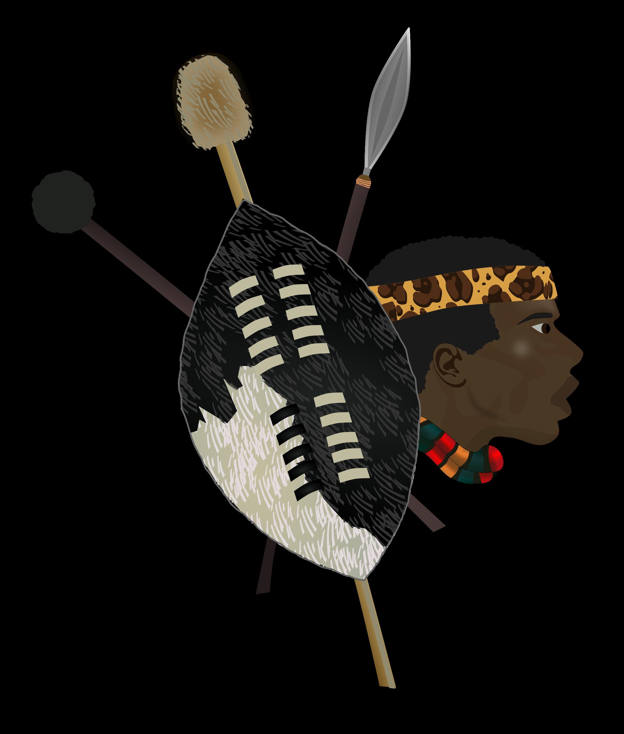 Zulu clipart.