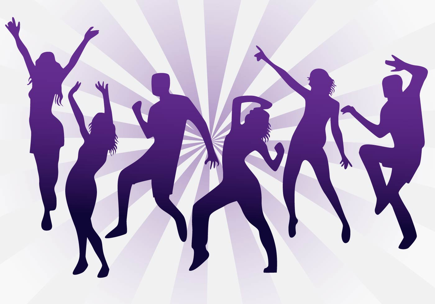 Clip art image of zumba dance jpg.