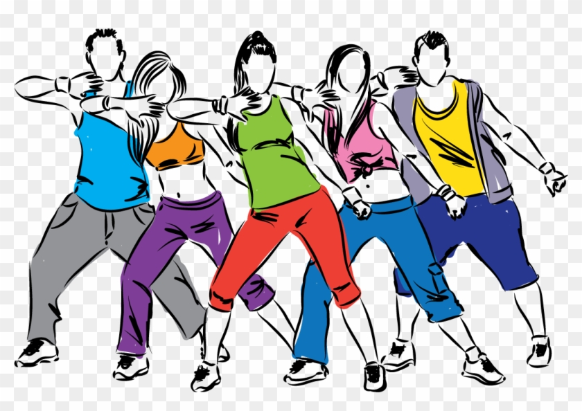 Youth Clipart Zumba.