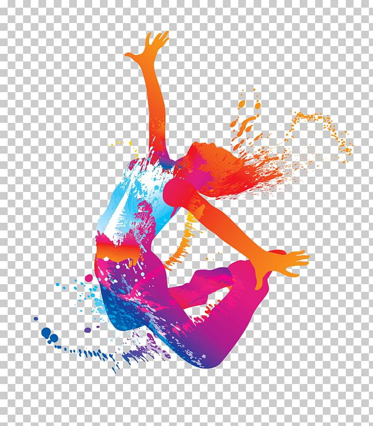 Ballet Dancer , zumba dance fitness, dancing artwork.