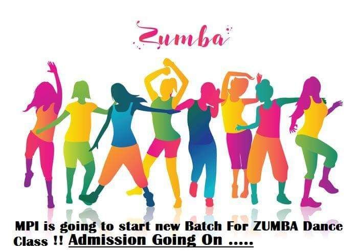 MPI is going to Start new Batch For Special #Zumba Dance Class.