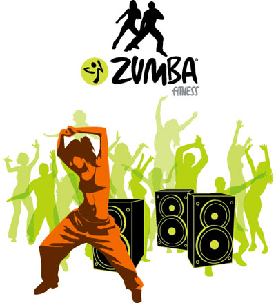 Zumba dancer clipart free images.