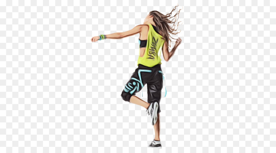 Zumba Dance png download.