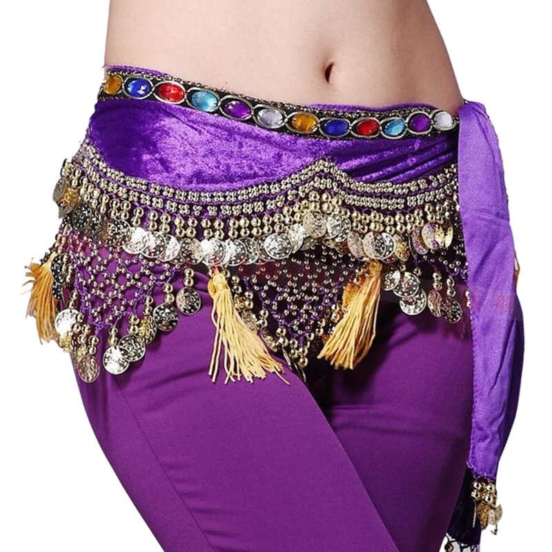 11 Colors Women Belly Dance Wear Accessories Class Clothes.