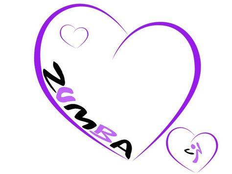 zumba logo clipart.