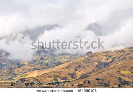 Andes Ecuador Quilotoa Lagoon Stock Photos, Images, & Pictures.