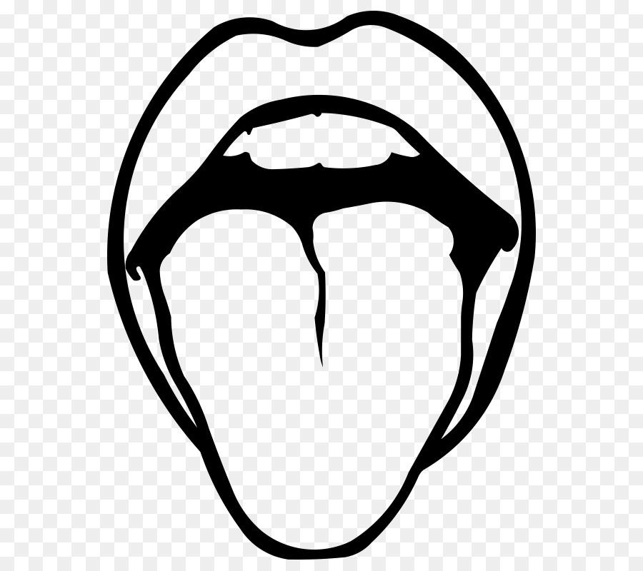 Zeichnung Zunge Clip.