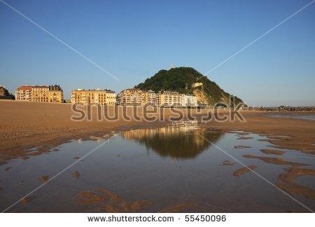 Zurriola Beach Stock Photos, Images, & Pictures.