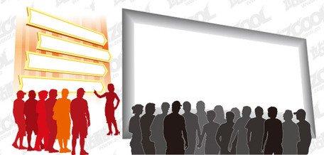 Zuschauer Leute silhouette Clipart Picture Free Download.