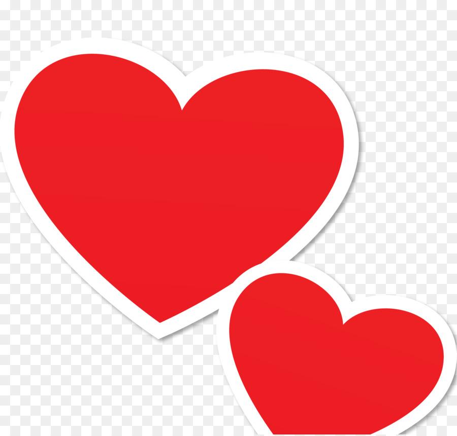 Valentinstag Herz Clip art.