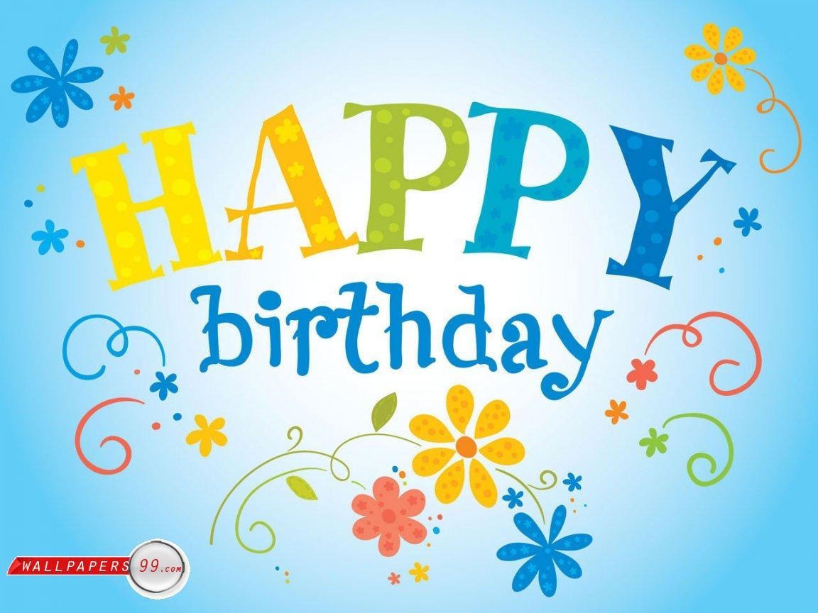 Happy Birthday Wishes Clipart.