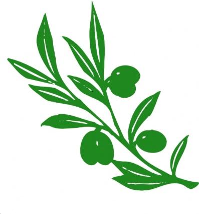 olivenbaum zweig clipart Clipart Graphic.
