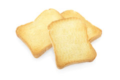Rusk Bread Toast Biscuit Texture Background Stock Images.