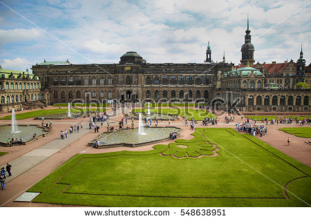 Zwinger Museum Dresden Germany Stock Photo 3355065.
