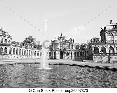 Picture of Dresden Zwinger.