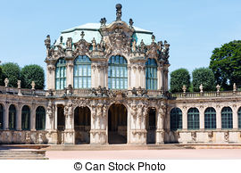 Stock Photo of Zwinger palace (Dresden, Germany).