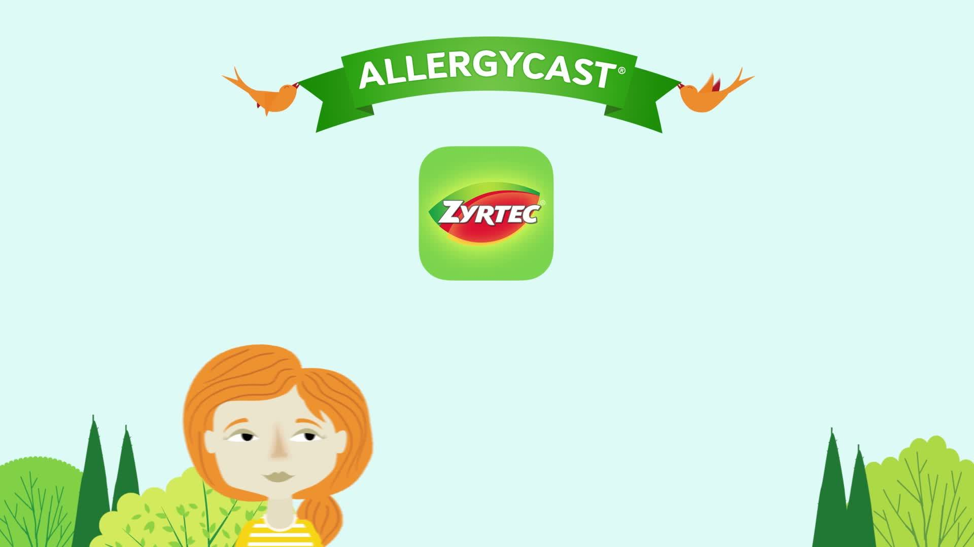 Zyrtec Allergy 24 Hour Tablets.