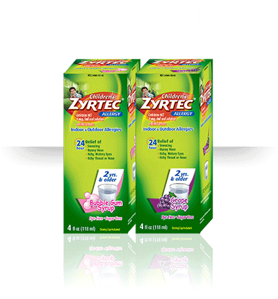 Zyrtec Dosage Charts for Infants and Children.