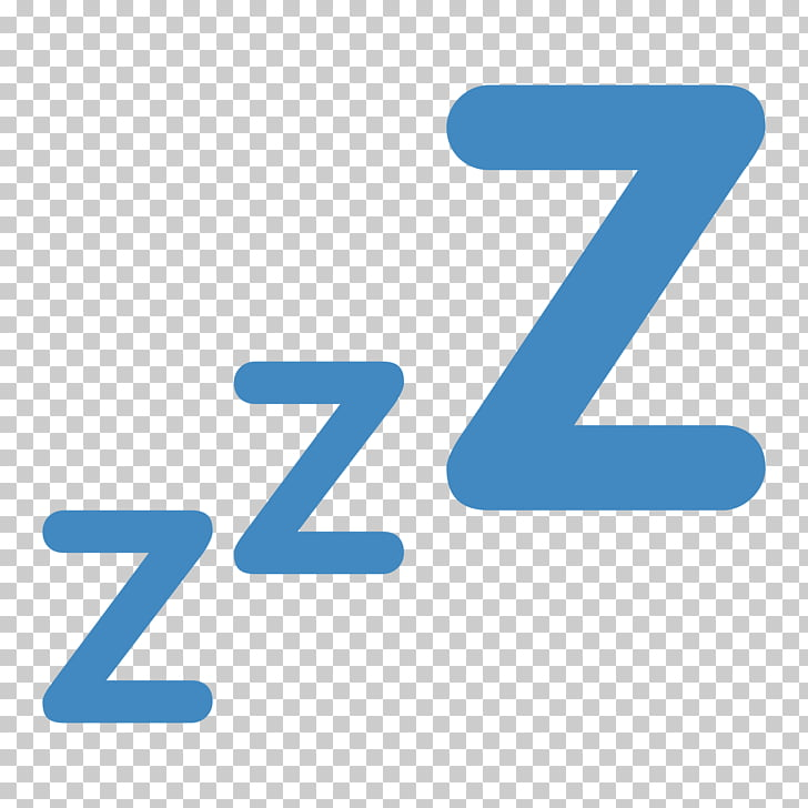 Sleep Emoji Symbol Computer Icons, sleep, zzz illustration.