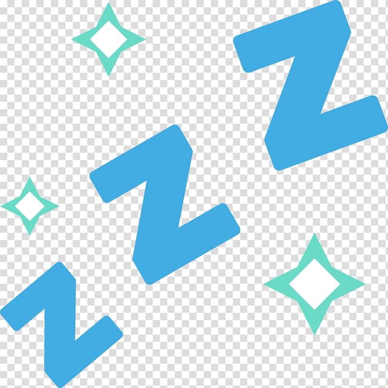 Zzz illustration, Emojipedia zZz Sleepy Symbol, sleep transparent.