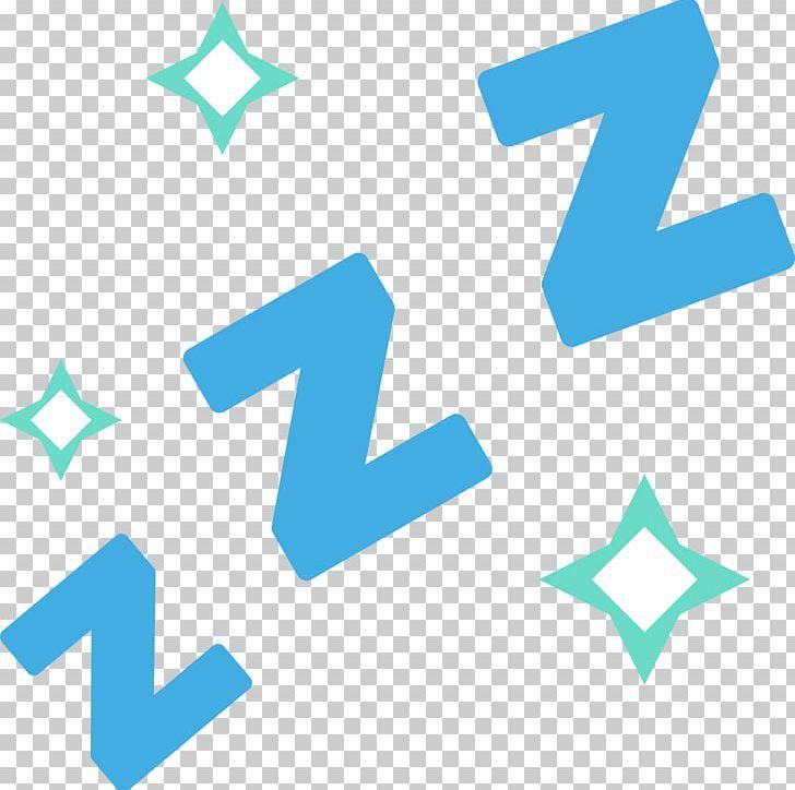 Emojipedia ZZz Sleepy Symbol PNG, Clipart, Angle, Aqua, Area, Blue.